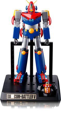 DX超合金魂 超電磁ロボ コン・バトラーV スペシャルページ | 魂ウェブ
