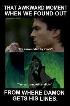 Damon's lines :)
