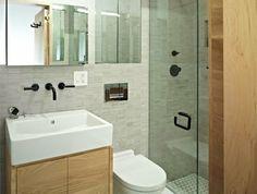Comment aménager une salle de bain 4m2? | Scandinavian bathroom ...