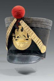 Shako du colonel baron Gay (79e régiment d'infanterie)