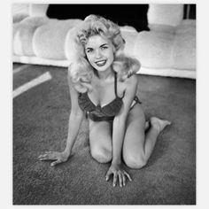 Playful Jayne Mansfield 13x18  by Frank Worth (1954).  This is Mariska Hargitay's mother.