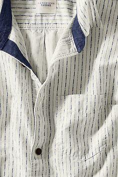 Men's Lightweight Coastal Shirt from Lands' End Canvas