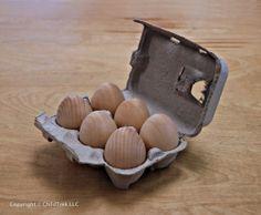 Camden Rose Six Brown Eggs