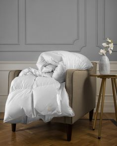 Our PureDelight duvets and comforters are filled with white Hungarian goose down. Comforter Sets, Bedding, Comforter Storage, The Embrace, Down Comforter, Good Sleep, Hungary, Bag Storage, King Size