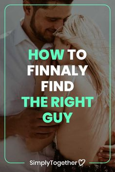 Do the guys you choose to date keep on disappointing you over and over again? Knowing how to find the right guy requires the right mindset. These three big truths helped me finally meet and get together with the love of my life. Unhappy Relationship, Past Relationships, Relationship Problems, Relationship Tips, Make Him Chase You, Make Him Miss You, So Much Love, Love Can, Wear You Down