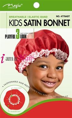 satin bonnets for natural hair babies
