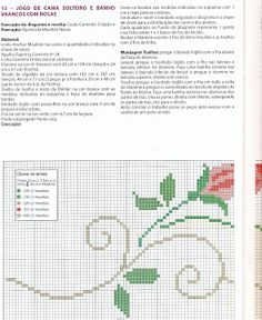 Cross Stitch, Bullet Journal, Bed Spreads, Cross Stitch Borders, Cross Stitch Rose, Cross Stitch Kitchen, Rose Buds, Hand Embroidery Patterns, Embroidered Towels