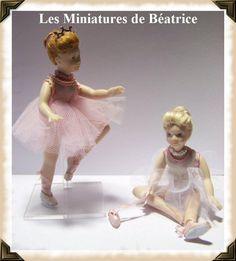 Tiny ballerinas.