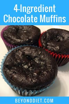 These rich gluten-free chocolate muffins can also be turned into cupcakes with a little frosting!