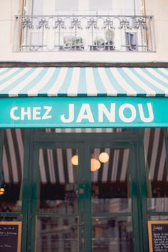PARIS Le Marais I Chez Janou (famous restaurant)