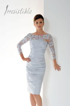 A jaw-dropping dress by Irresistible for a mother of the bride, mother of the groom or wedding guest! Frox of Falkirk, fashion.