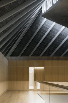 """leibal: """"The Design Museum is a minimal building located in London, United Kingdom, designed by John Pawson. The Design Museum's new permanent home in west London sits within the skin of an existing building — the Grade 2* listed former Commonwealth..."""