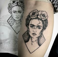 Frida Kahlo - LX Tattoos (Puerto Rico)