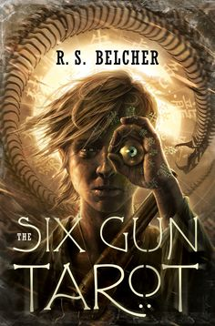 The Six Gun Tarot by R. Art by Raymond Swanland Raymond Swanland, Fantasy Places, Another World, Dark Fantasy, New Friends, Bestselling Author, Cover Art, Science Fiction, Tarot