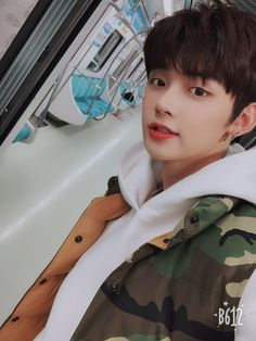 """TXT 's Yeonjun is just 19 years old, but he's already living up to the """"grandpa"""" status given to a K-Pop group's oldest member. K Pop, Chanyeol, Kai, Jonghyun, Shinee, Rapper, Young Ones, Twitter Update, South Korean Boy Band"""