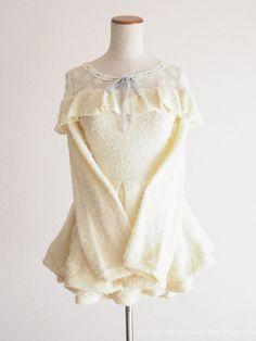 LIZ LISA Fluffy OP Dress+Shorts SET-UP Hime Sweet street Lolita Kawaii Japan #LIZLISA #PeplumTunic #Party