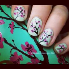 Arizona tea;nails