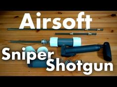 After receiving mass requests to create an airsoft sniper rifle over the last few months I put together this simple design. Be sure to leave me a comment, ra...