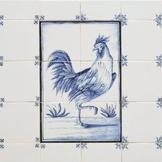 Tegeltableaus, beschilderde tegels en Hollandse witjes Albarello - Atelier KK Naarden-Vesting