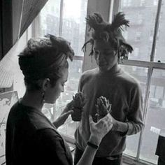 MADONNA AND BASQUIAT #differtvBasquiat