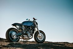 La belle Ducati Monster Café Racer de Satora Design | 4h10