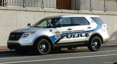 Clinton Township (MI) Police # 66 Ford Interceptor Utility