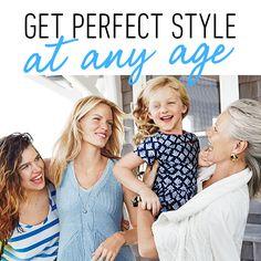 #CAbi- Dressing for your 20s, 30s, 40s, 50s and 60s.  It's not WHAT you wear, it's HOW you wear it.