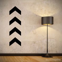 One Direction Chevron WallSized Decal by Austinspire on Etsy