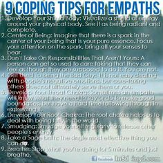 ∆ Empath...Empath cleansing/protection