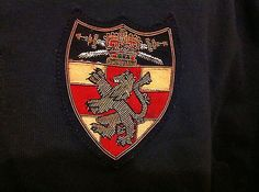 Ralph Lauren Polo Rugby Long Sleeve Shirt Lion Crown Crest Patch XL
