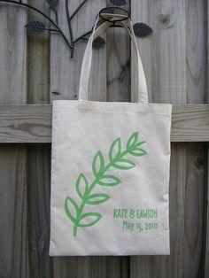 DIY: screenprinted tote bag