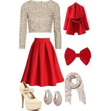 Image result for christmas party outfit