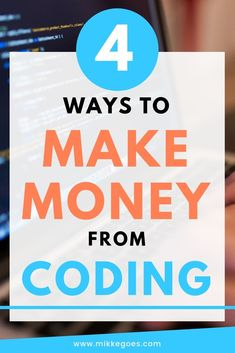 Start making money from coding and web development using these 4 ways - Learn the basics of coding online, create a stellar portfolio website, apply for your first freelance gigs and start a career in tech Design Websites, Web Design Jobs, Web Design Quotes, Website Design Services, Web Design Company, Marketing Jobs, Affiliate Marketing, Web Developer Portfolio, Claves Wifi
