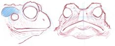 Animal Sketches, Animal Drawings, Drawing Sketches, Cartoon Drawings, Figure Drawing Reference, Art Reference Poses, Frog Sketch, Frosch Illustration, Anime Drawing Books
