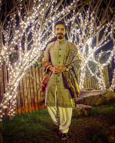 Ethnic Indian wear for modern man. The Indian dandy.