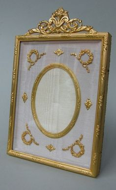 Stunning French Ormolu Photo Picture Frame Late 19th Century |