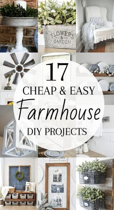 DIY Rustic Farmhouse Decor Projects for Your Country Chic Cottage. Dekor DIY Rustic Farmhouse Decor Projects for Your Country Chic Cottage. - Home Decor Art Diy Rustic Decor, Farmhouse Diy Projects, Farmhouse Decor Living Room, Diy Decor, Vintage Farmhouse Decor, Decor Project, Diy Farmhouse Decor, Country Chic Cottage, Rustic House
