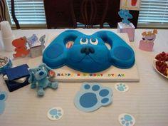 Blue's Clue party