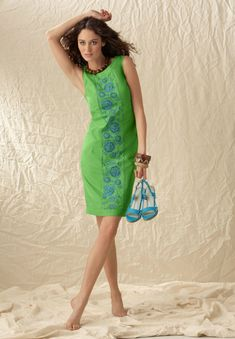 cb2e5ea0671 Gallery.ru   Фото  1 - Вышитые платья - Auroraten