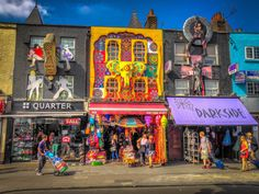 From markets to canalside walks. Our favourite things to do in Camden— one of London's vibrant capitals for alternative culture. London Now, Camden London, Camden Town, London Places, London City, Art In London, London Underground, London Pictures, Destination Voyage