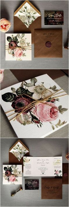 Top 10 Etsy Wedding Invitations for 2019 - Wrap it - # for . Top 10 Etsy Wedding Invitations for 2019 – Wrap it – Wedding Invitation Envelopes, Flower Invitation, Destination Wedding Invitations, Wedding Invitation Design, Wedding Stationary, Wedding Planner, Destination Weddings, Invitation Templates, Birthday Invitations