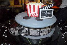 movie night party cake