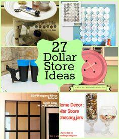 27 Dollar Store Craft Ideas