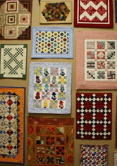 Doll quilts - do click on link there are dozens of them and some are really small.