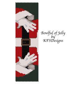 Peyote Bracelet Pattern  Bowlful of Jelly Buy 2 Patterns get a 3rd Pattern FREE by KFSDesigns, $6.50