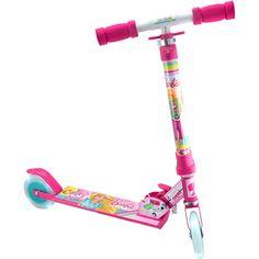 Patinete Barbie Brilho California com Luzes Astro Toys