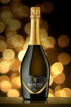 The Sparkling Angel brut will shine at the Montes stand during this year's Vinexpo