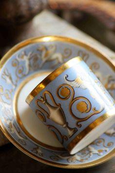 Vintage Demitasse Cup Saucer