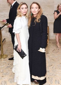 Ashley and Mary-Kate attending Youth America Grand Prix's 2017 Gala at the Lincoln Center in NYC on April 13, 2017 (via olsensobsessive.com)  I like both looks, but Ashley looks fantastic, nice to see her in something other than black.