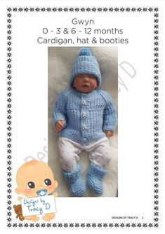 32d8b85b3c3e Patons 382 Knitting for Baby   Free Download